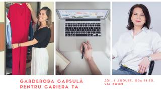 Eveniment Online - Garderoba capsulă pentru cariera ta